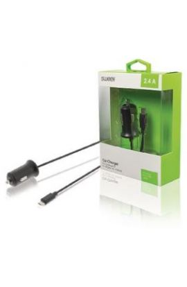 CHARGEUR allume-cigares 2.4 A micro USB noir