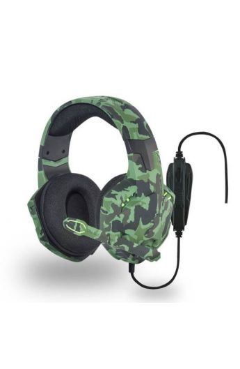 MICROCASQUE TNB filaire GAMING ELYTE FALCON-PC, Mac,PS4 camouflage