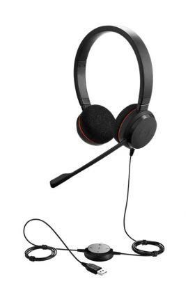 JABRA MICROCASQUE Evolve 20SE MS Stereo