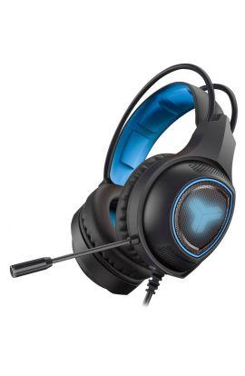 MICROCASQUE TNB filaire GAMING ELYTE HY-200-bleu/noir